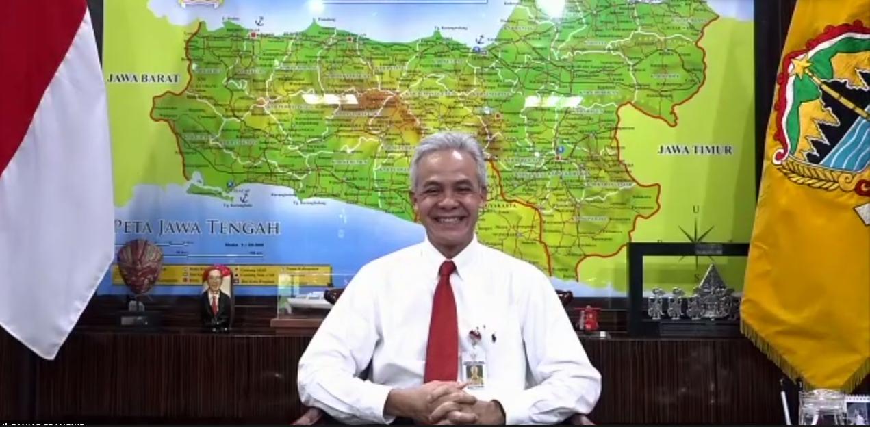 Gubernur Jawa Tengah Lepas Mahasiswa KKN Covid-19 UNS Tahap III